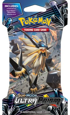 Pokemon Sun & Moon Ultra Prism - Sleeved Boosterpack-3
