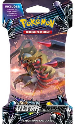 Pokemon Sun & Moon Ultra Prism - Sleeved Boosterpack