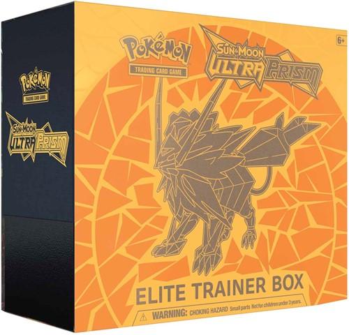 Pokemon Sun & Moon Ultra Prism - Elite Trainer Box (Geel)