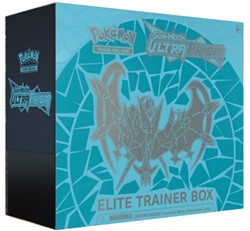Pokemon Sun & Moon Ultra Prism - Elite Trainer Box (Blauw)