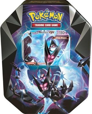 Pokemon Necrozma Prism Tin - Dawn Wings Necrozma-GX (Open geweest)