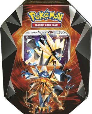Pokemon Necrozma Prism Tin - Dusk Mane Necromza-GX