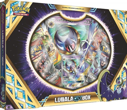 Pokemon Lunala GX Box