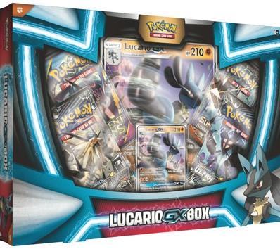 Pokemon Lucario GX Box