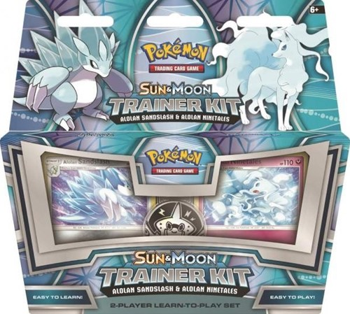 Pokemon Sun & Moon Trainer Kit - Alolan Sandslash & Alolan Ninetales