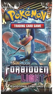 Pokemon Sun & Moon Forbidden Light Boosterpack-1