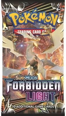 Pokemon Sun & Moon Forbidden Light Boosterpack