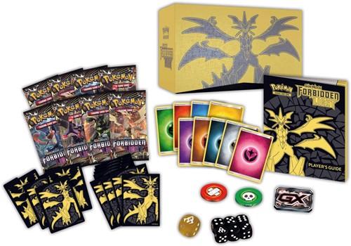Pokemon Sun & Moon Forbidden Light Elite Trainer Box