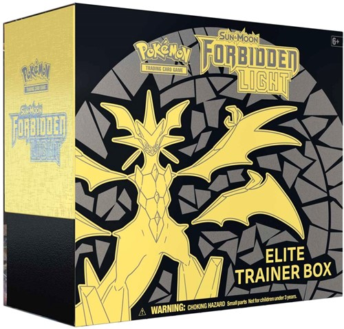 Pokemon Sun & Moon Forbidden Light Elite Trainer Box-1