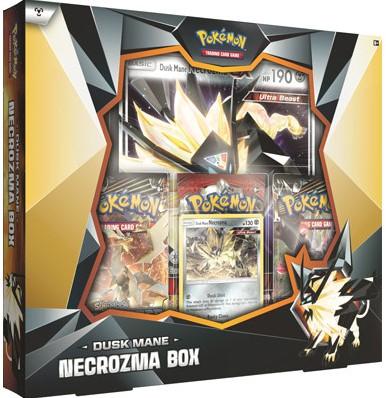 Pokemon Dusk Mane Necrozma Box