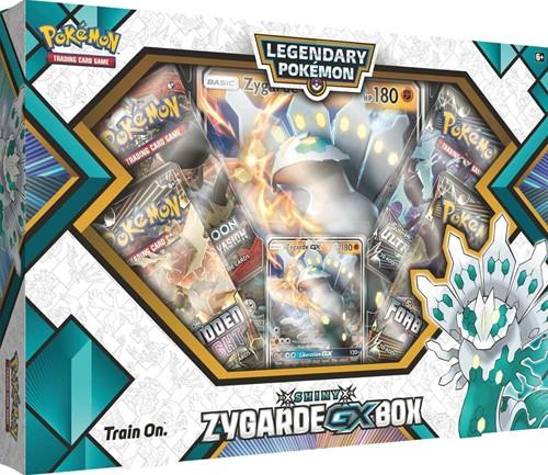 Pokemon Shiny Zygarde GX Box