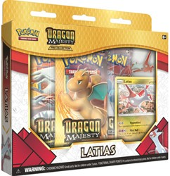 Pokemon Dragon Majesty Latias Pin