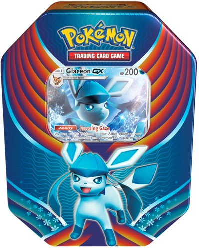 Pokemon Evolution Celebration Tin Glaceon-GX