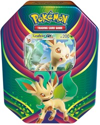 Pokemon Evolution Celebration Tin Leafeon-GX