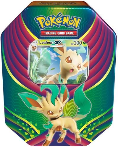 Pokemon Evolution Celebration Tin Leafeon-GX