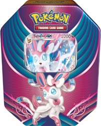 Pokemon Evolution Celebration Tin Sylveon-GX