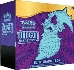 Pokemon Sun & Moon Dragon Majesty Elite Trainer