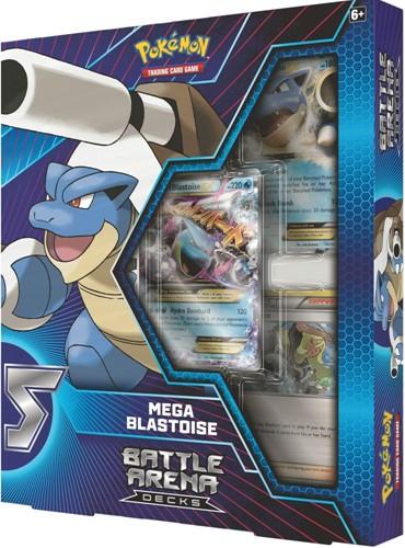 Pokemon Battle Arena Decks Mega Blastoise