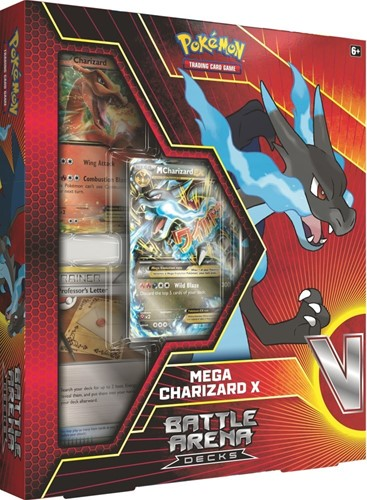 Pokemon Battle Arena Decks - Mega Charizard X