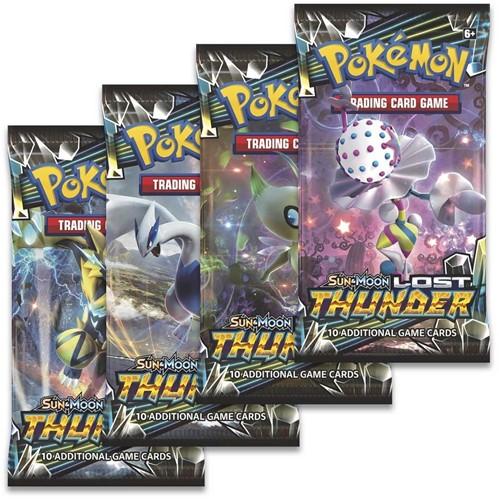 Pokemon Sun & Moon Lost Thunder Boosterpack