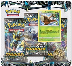 Pokemon Sun & Moon Lost Thunder Boosterblister