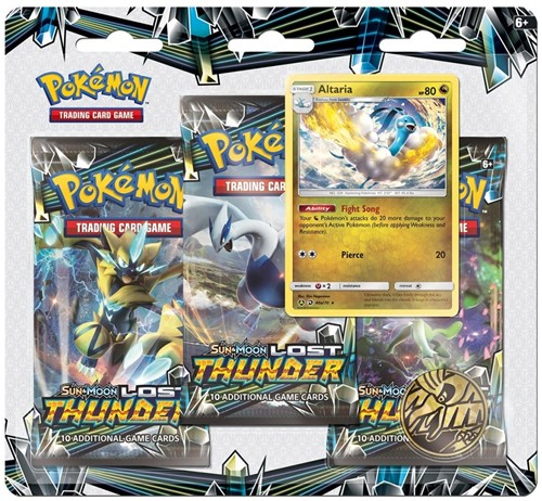 Pokemon Sun & Moon Lost Thunder Boosterblister-2
