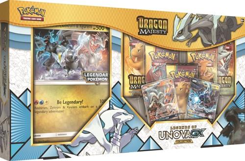 Pokemon Dragon Majesty Legends of Unova GX