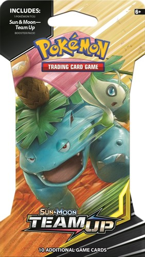 Pokemon Sun & Moon Team Up Sleeved boosterpack-2