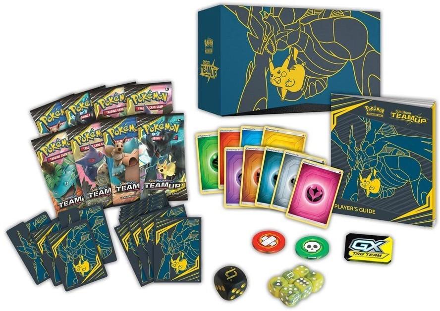 9099b7b7f30 Pokemon Sun & Moon Team Up Elite Trainer Box - kopen bij Spellenrijk.nl