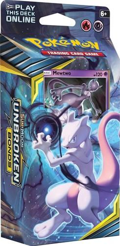 Pokemon Sun & Moon - Unbroken Bonds Themedeck Mewtwo