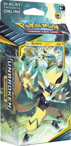 Pokemon Sun & Moon - Unbroken Bonds Themedeck Zeraora