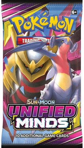 Pokemon Sun & Moon - Unified Minds Boosterpack-2