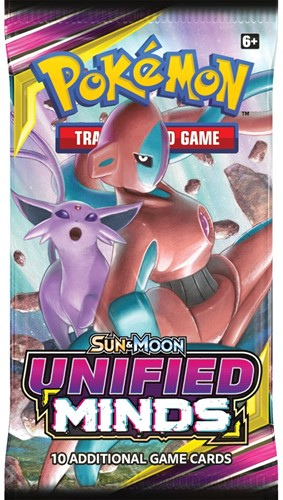 Pokemon Sun & Moon - Unified Minds Boosterpack-3