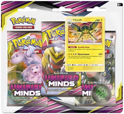 Pokemon Sun & Moon - Unified Minds Boosterblister-2