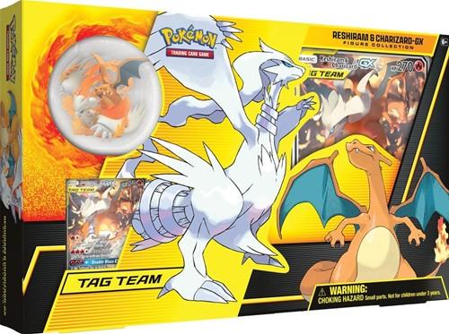 Pokemon Reshiram & Charizard GX Figure Collection