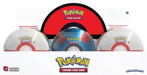 Pokemon Pokeball Fall Tin 2019 - Wit