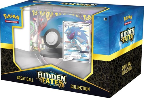 Pokemon - Hidden Fates Pokeball Collection Zoroark-GX