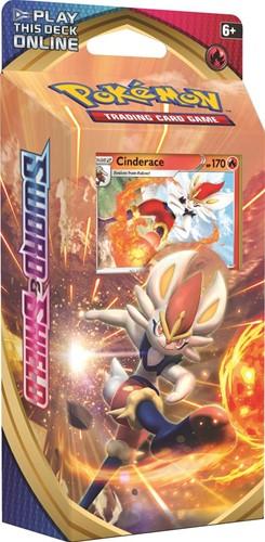 Pokemon - Sword & Shield Theme Deck Cinderace