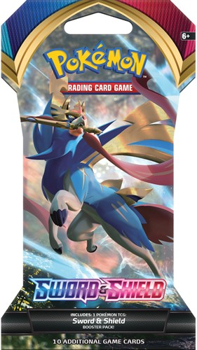 Pokemon - Sword & Shield Sleeved Boosterpack