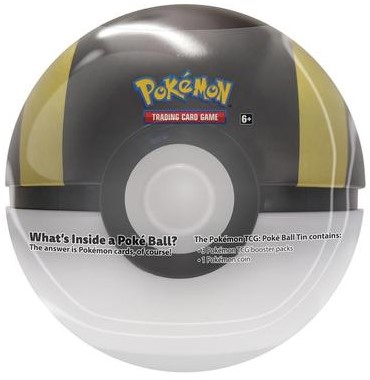 Pokemon Pokeball Tin 2020 Ultra Ball