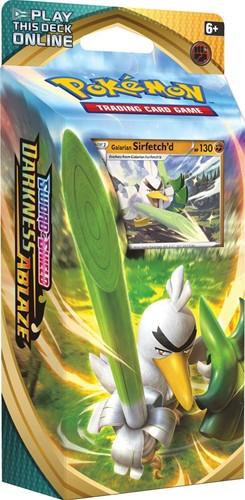 Pokemon Sword & Shield Darkness Ablaze Themedeck Sirfetch'd