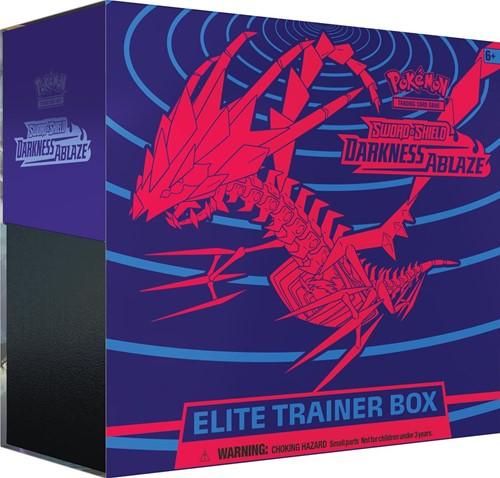 Pokemon Sword & Shield Darkness Ablaze Elite Trainerbox