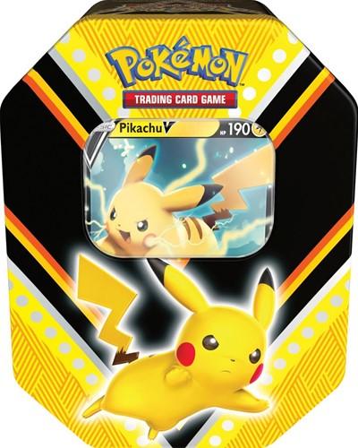Pokemon - V Power Tin Pikachu