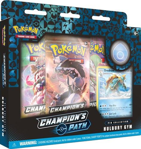 Pokemon - Champion's Path Pin Collection Hulbury Gym