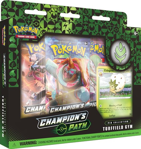 Pokemon - Champion's Path Pin Collection Turffield Gym