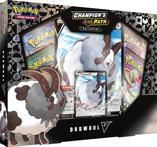 Pokemon - Champion's Path Dubwool V Box