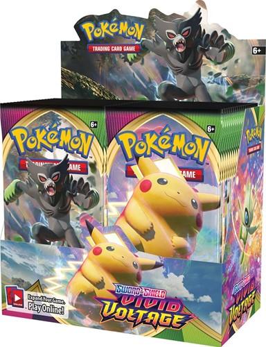 Pokemon Sword & Shield - Vivid Voltage Boosterbox
