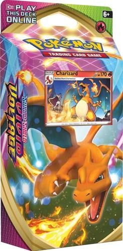Pokemon Sword & Shield - Vivid Voltage Themedeck Charizard