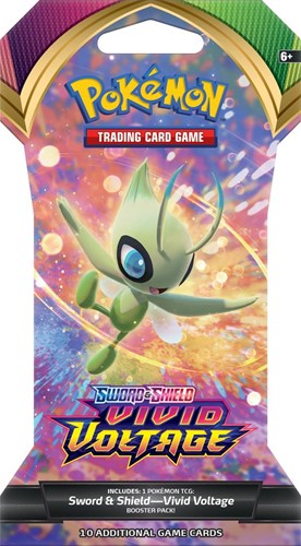 Pokemon Sword & Shield - Vivid Voltage Sleeved Boosterpack