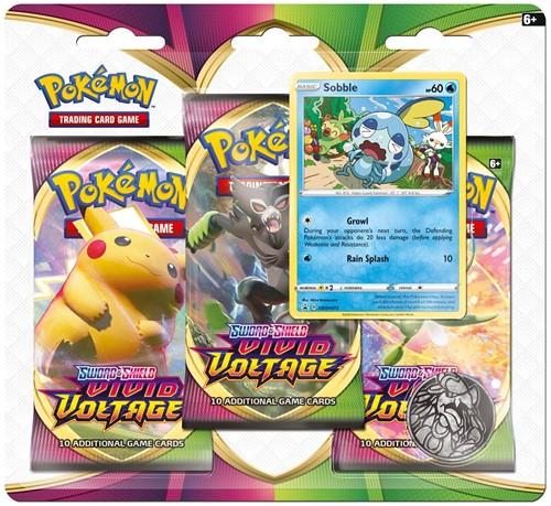 Pokemon Sword & Shield - Vivid Voltage Boosterblister